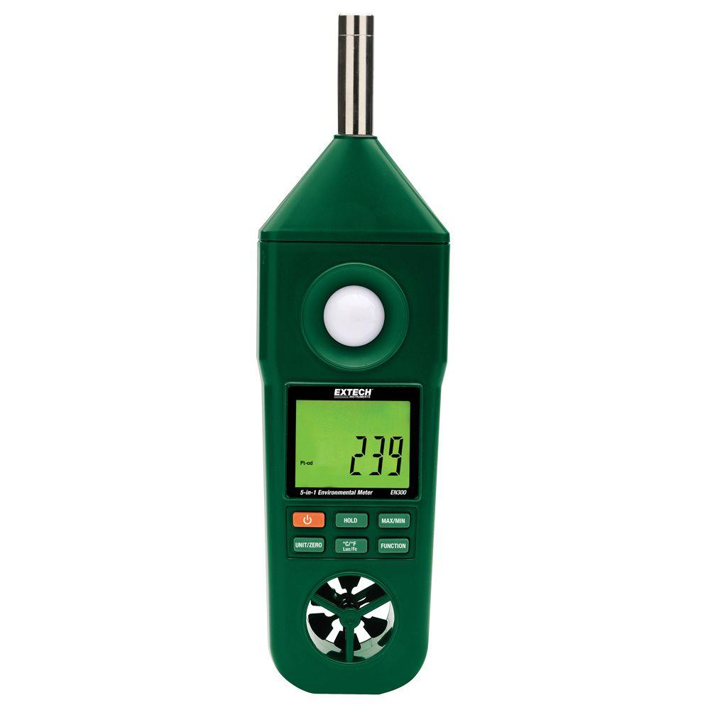 Humidity/Temperature/Air Velocity/Light/Sound Meter